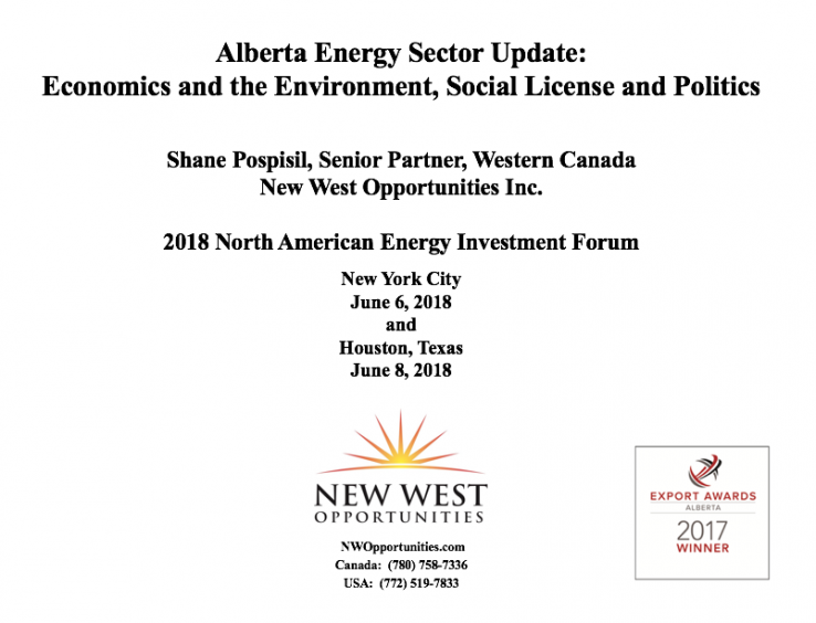 2018 NA Energy Investment Forum Presentation