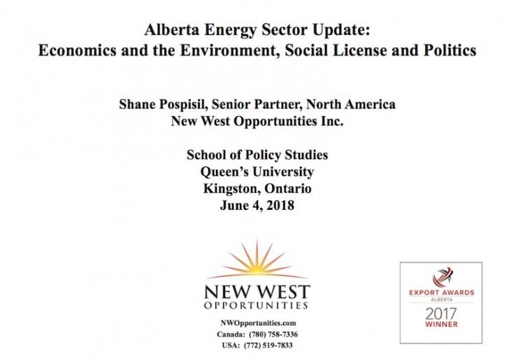 Alberta Energy Sector Update