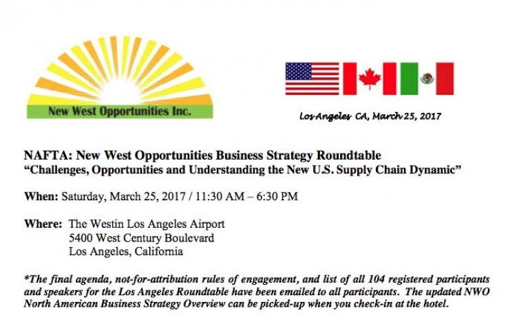 2017 Los Angeles Business Strategy Roundtable