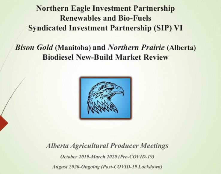 Bison Gold (Manitoba) and Northern Prairie (Alberta) Biodiesel New-Build Market Review