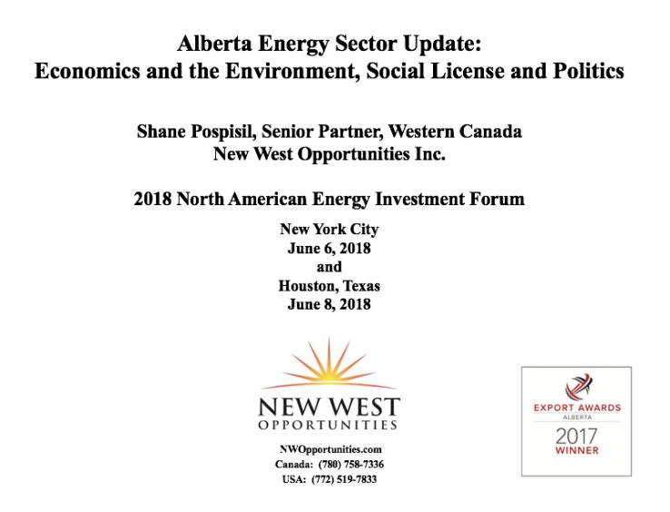 2018 NA Energy Investment Forum Presentation
