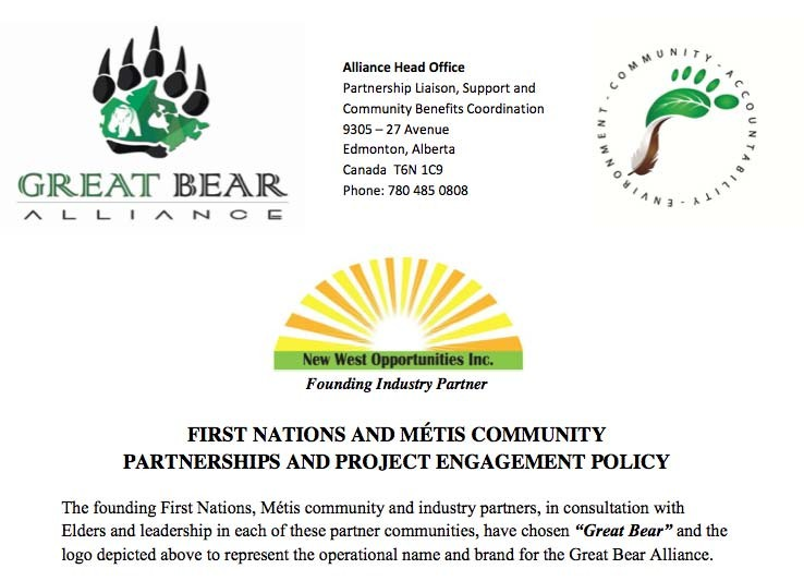 Great Bear Alliance Aboriginal Engagement Policy